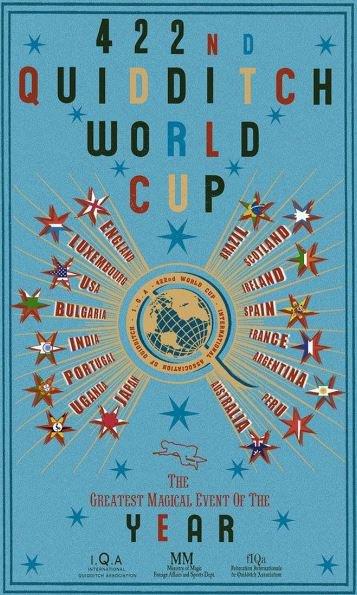 Quiddich World Cup Vintage Poster