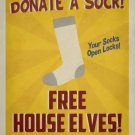 House Elves Vintage Poster