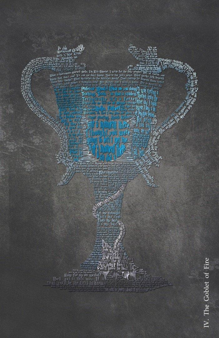 Goblet of Fire Vintage Poster