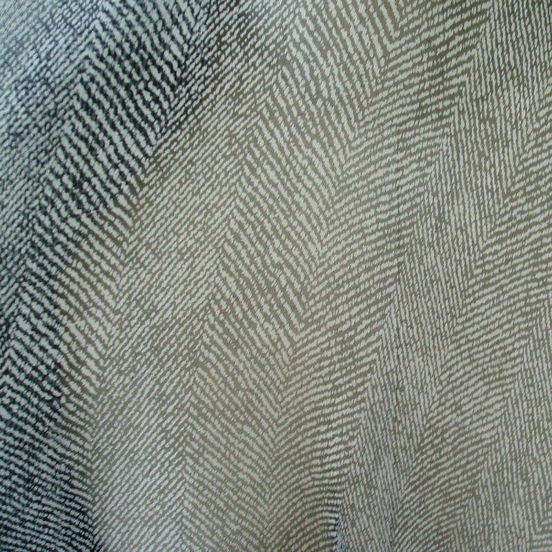 "Pure silk chiffon fabric herringbone 55"" wide  6 momme flowy high sheer"
