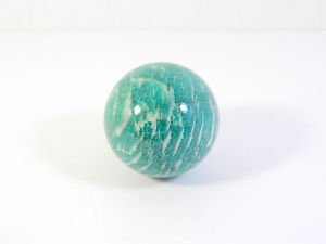 Amazonite stone sphere (37 mm)