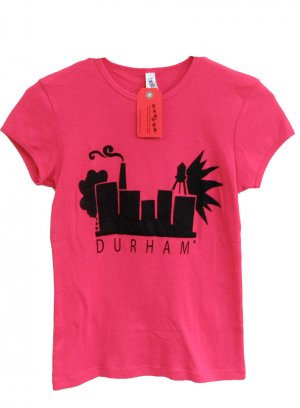 Durham Skyline (women's t-shirt)