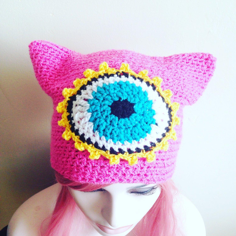 Third Eye Cat Ear Beanie