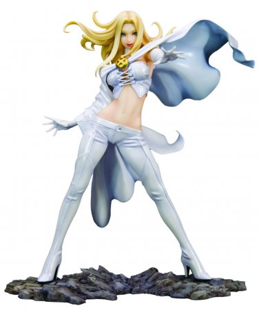 KOTOBUKIYA Marvel Bishoujo X-Men Emma Frost 1/8 PVC Figure