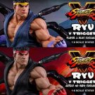 FULLY PAID Ryu V-Trigger Exclusive 1:6 Statue by Pop Culture Shock  SET