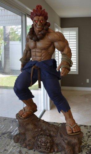 Pop Culture Shock Akuma 1:3 statue Street Fighter SEALED