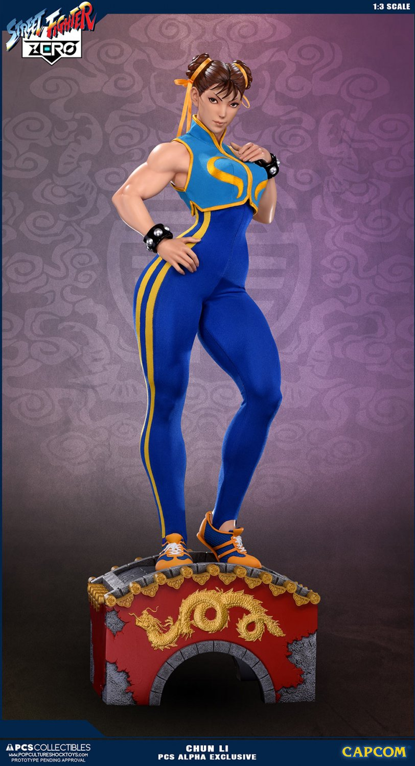 DEPOSIT ONLY CHUN LI 1:3 STATUE � ALPHA EXCLUSIVE