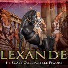 ARH Studios Statue 1/4 Alexander The Great Regular Edition (Damage.) . Inclusive one  cape.