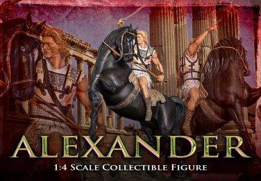 ARH Studios Statue 1/4 Alexander The Great Regular Edition (Damage.) . Inclusive one  cape.
