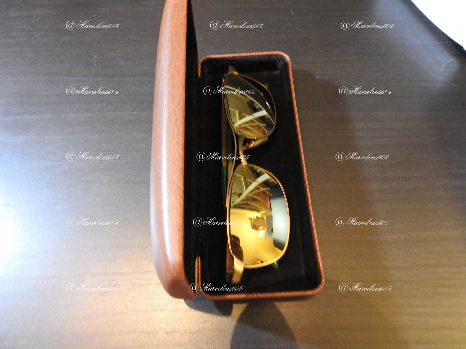 Old Paul Smith  Satin Gold PS-124 Sunglasses   in a HOYA case