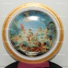 "12.5"" (32 Centimeter) Magnificent Limoges Dec A La Main PORCELAIN PLATE Cirka 1920"