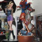 Sideshow Spiderman Comiquette Statues Set Of 3 J. Scott Campbell . No Box!