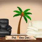 Palm Tree  Wall Decal (full color) LARGE -ec