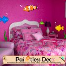 Reusable Assorted Under Sea World Fish Wall Decal -ec