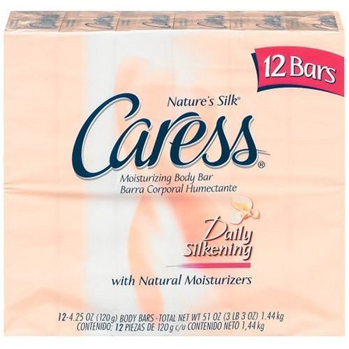 Caress Nature's Silk Moisturizing Body Bar 24 Bars