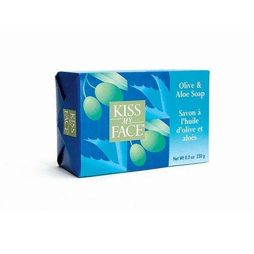 Kiss My Face Olive & Aloe Bar Soap 8 pack
