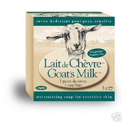Canus Goat's Milk Fragrance Free Bar Soap 12 Bars