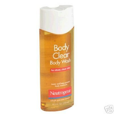 Neutrogena Body Clear Body Wash 3 Pack of 8.5 oz bottles