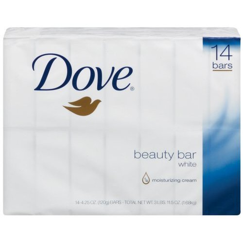 Dove Beauty Bar White 28 Bars