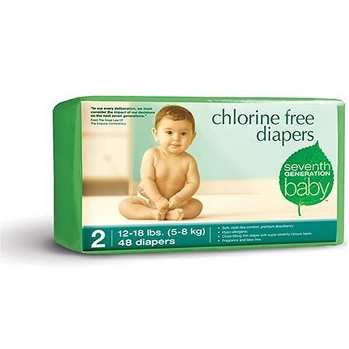 Seventh Generation Chlorine Free Diapers Stage 2 CASE