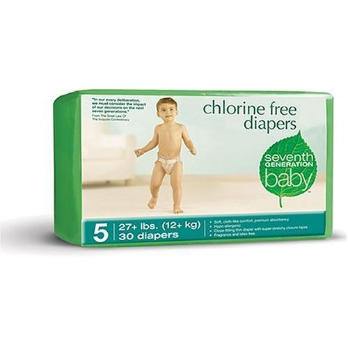 Seventh Generation Chlorine Free Diapers Stage 5 CASE