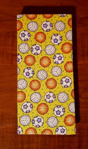 Yellow Sports Balls Magic Moneybook