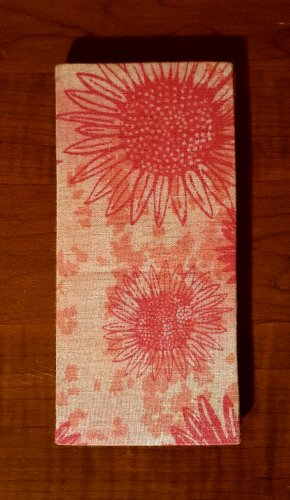 Pink Sunflower Magic Moneybook