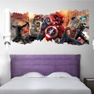 "Marvel's The Avengers | 18"" x 35"" 3D Removable Wall Sticker/Decal"