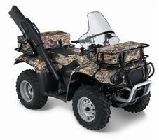 2008 Ozark 250 ATV Gun Boot (Mounting Bracket)