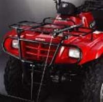 2007 Eiger 400 Warn Multi-Purpose Plow Blade (Warn Rack Mounted Manual Lift Kit)