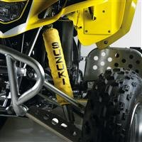 2008 QuadSport Z400 Shock Covers (Front Set 2 pcs.) Yellow
