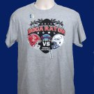 2015 Boca Raton Bowl Souvenir Tee - S/S Adult Medium - Gray