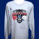 2015 Boca Raton Bowl Souvenir Tee - L/S Gray - Adult XL