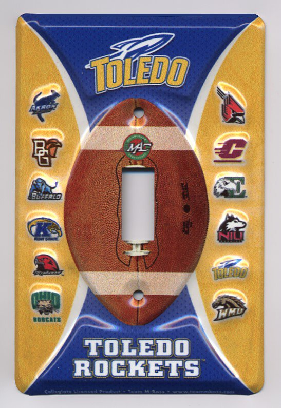 Toledo Rockets Wall Switch Plate