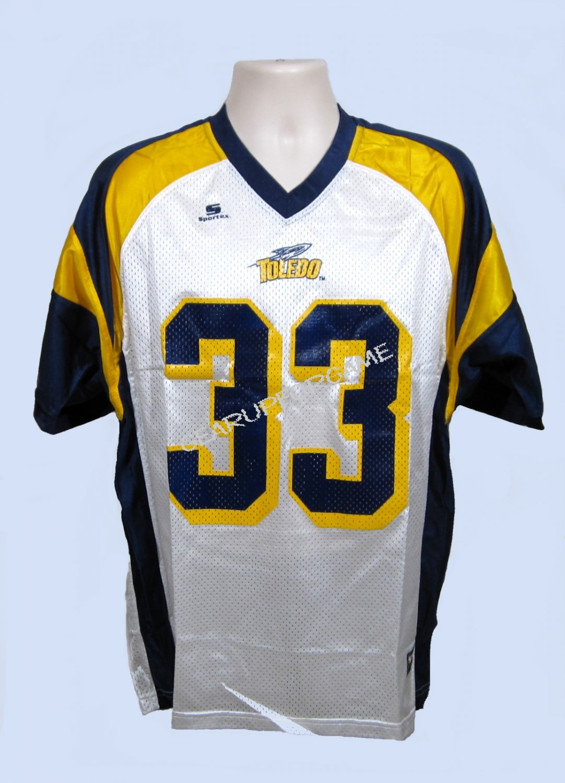 Toledo Rockets Replica Jersey - White - Adult Small (S)