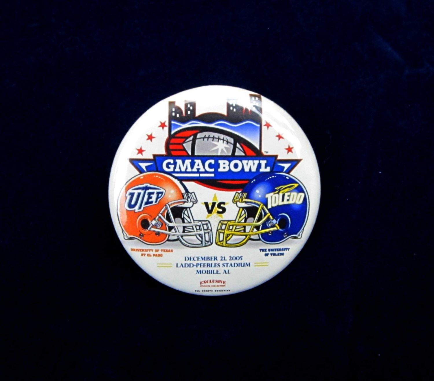 2005 GMAC Bowl Badge