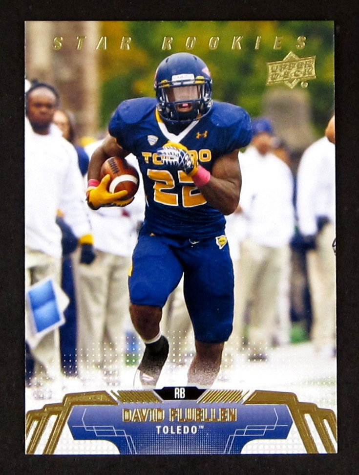 David Fluellen Upper Deck Star Rookies #118