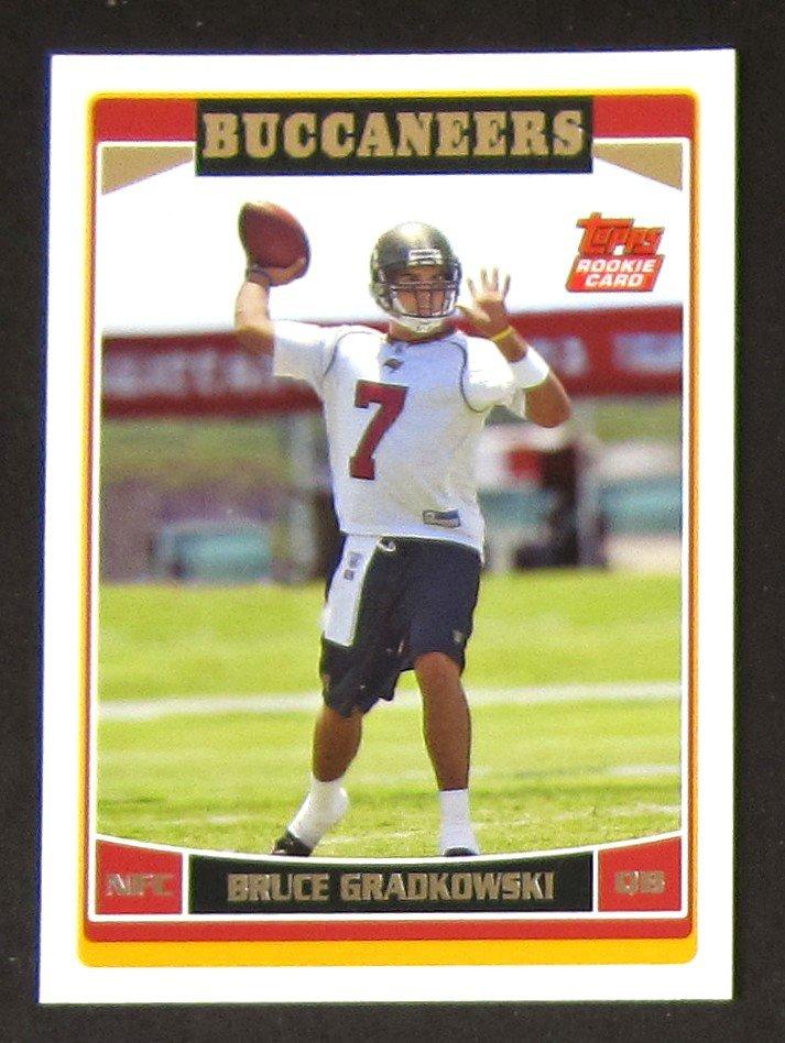Bruce Gradkowski 2006 Topps #321 Rookie Card