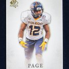 Eric Page 2012 SP Authentic #91