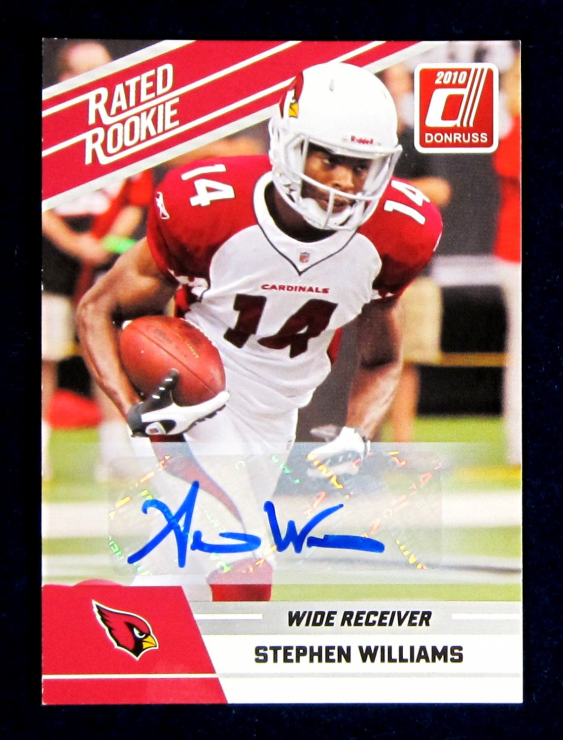 Stephen Williams Autograph 2010 Donruss Rated Rookie #92
