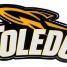Toledo athletic logo vinyl sticker