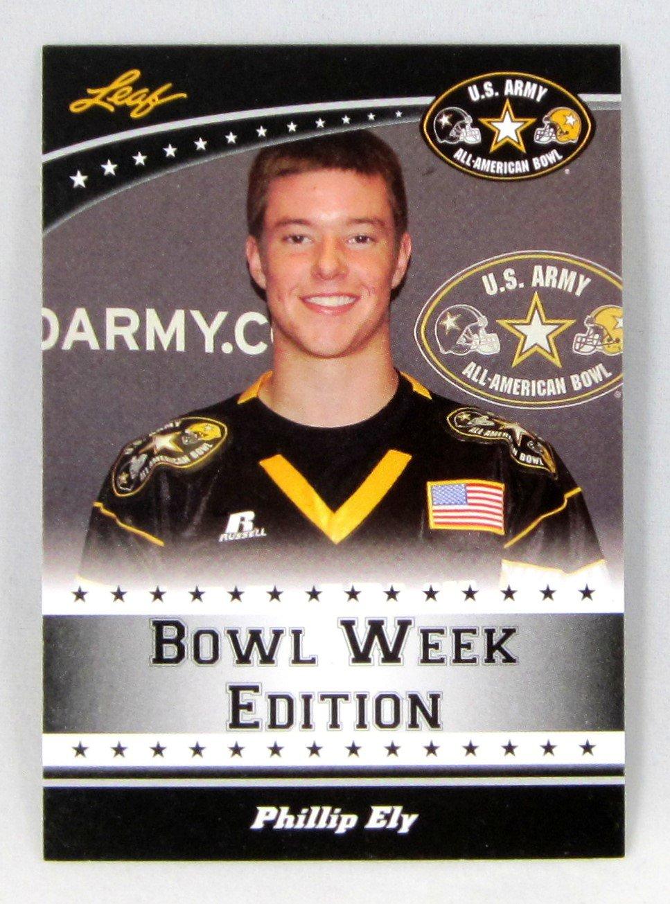 Phillip Ely 2011 Leaf U.S. Army All-American Bowl #East-01