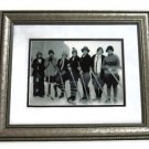 "Vintage 1910 Women's Ice Hockey Heavy Duty Framed Lrg Photo Frame size 20"" x 12"""