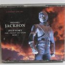 Michael Jackson History Past Present Future Book1 2CD Set MJ Book included