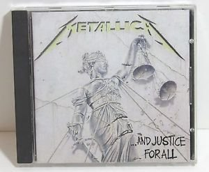 Metallica ...And Justice For All CD Eye of Beholder Blackened One Shortest Straw