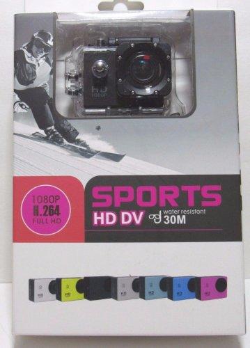 Action Sports Camera HD DV 1080P H.264 12MP 4X Zoom 32GB Memory Waterproof 30M
