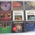Inspirational World Classical Music 11 CD Lot:Star Wars Easy Listen Mozart Irish