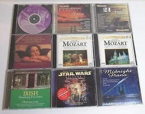 Inspirational World Classical Music 11 CD Lot:Star Wars Easy Listen Mozart Irish