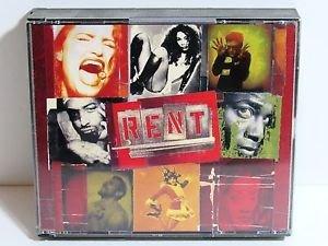 Rent by Jonathan Larson Original Broadway Cast Recording 2CD set Dreamworks