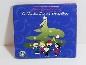 A Charlie Brown Christmas Classic Music CD Vince Guaraldi Peanuts Snoopy Woodsto